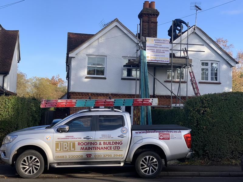 Image 3 - Clay tile roof replacement in Send, Woking Surrey