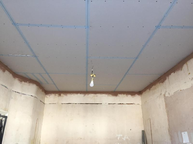 Image 53 - Ceiling boarded