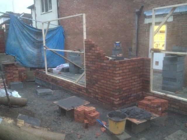 Image 27 - Large extention including loft conversion and retaining wall from start to completion