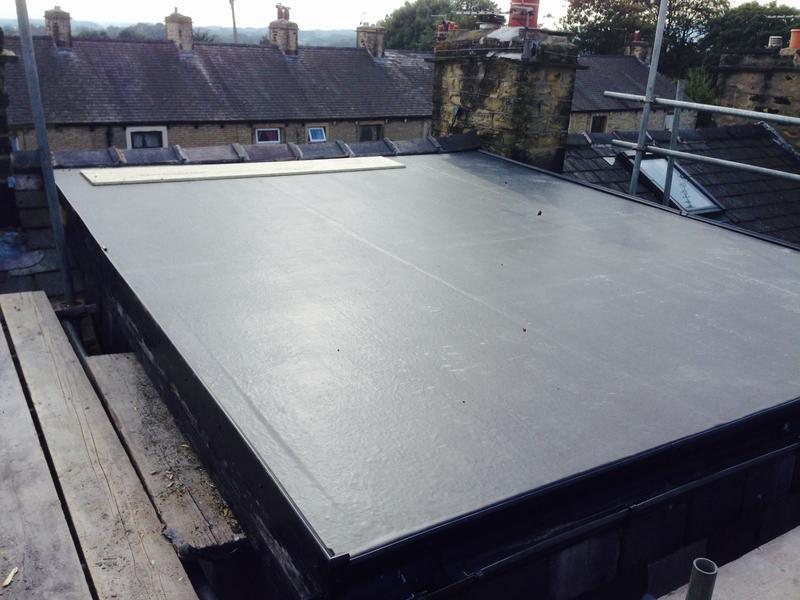 Image 14 - Rubber flat roof Clitheroe