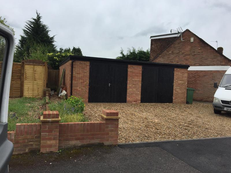 Image 8 - Double garage completed