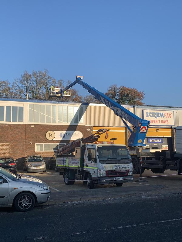 Image 13 - Commercial roof repair's as part of our regional contract with Screw fix direct