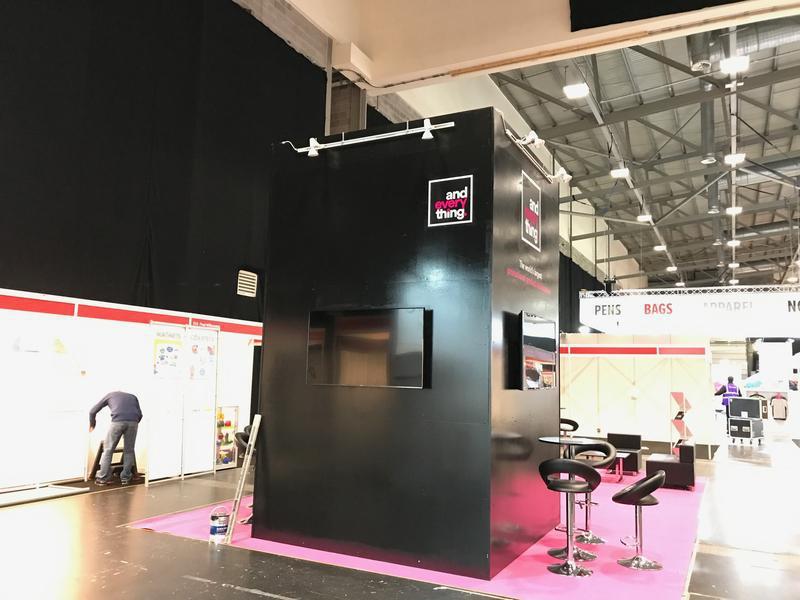 Image 3 - Exhibition stand design, build & paint