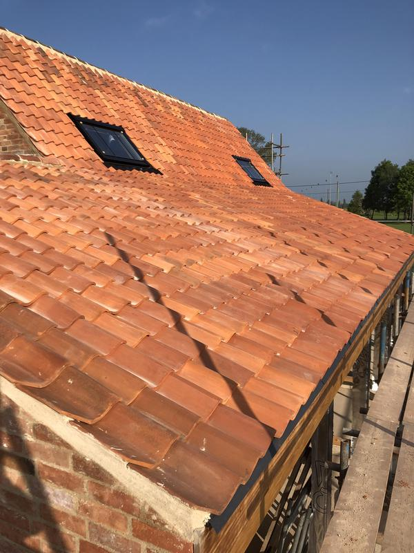 Image 5 - Another finished side to Rolleston Mill Pantile roof