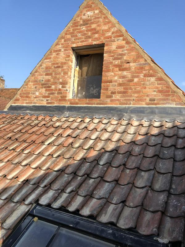 Image 3 - Finished Pantile roof in reclaimed tiles
