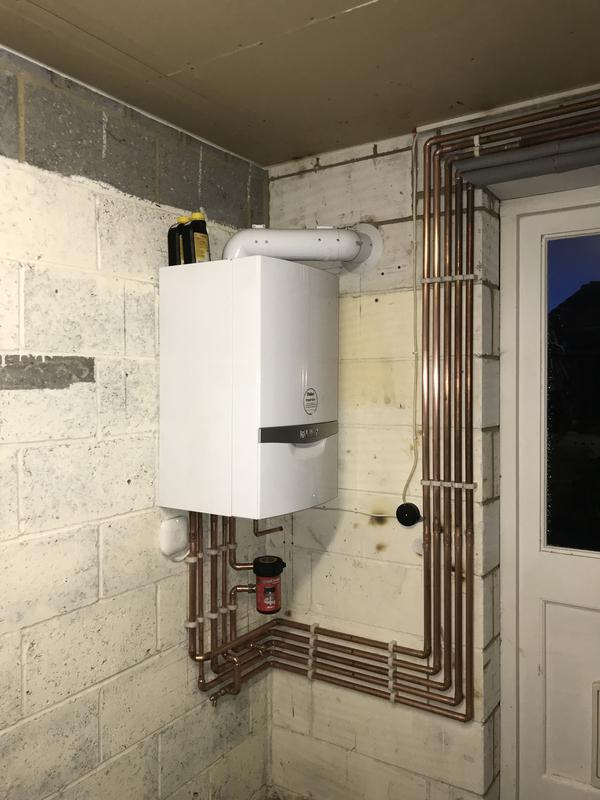 Image 7 - Here we relocated a combination boiler we fitted 14 months ago as part of a conversion due to the customer now turning the garage into a kitchen! It came with upgraded nest controls and a 10 year warranty.