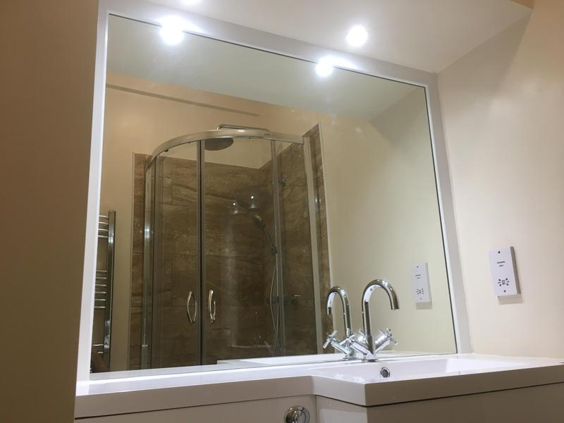 Image 14 - X-Large mirror fitted and framed.