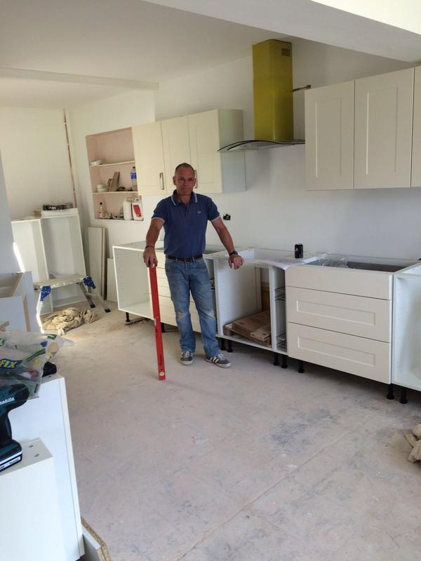 Image 20 - On the finishing stages, just the worktop needed fitting