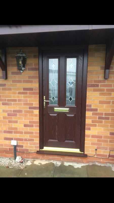 Image 83 - Rosewood composite door