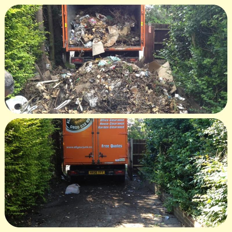 Image 5 - Before and After Rubbish Removal