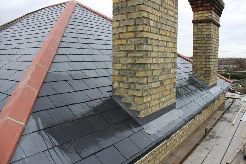 Image 42 - New Slate Roof