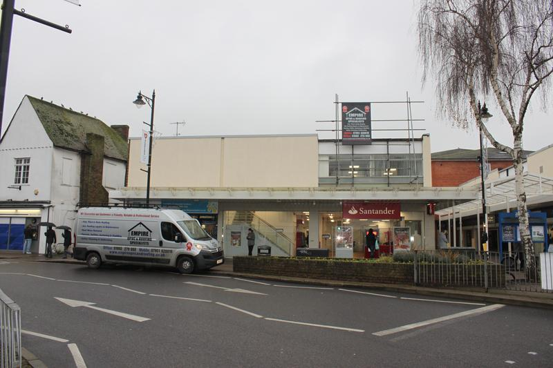 Image 41 - New Felt Flat Roof going over Santander bank in Hoddesdon