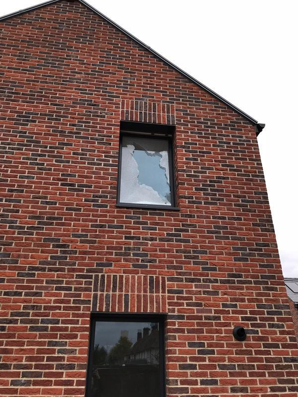 Image 58 - Temporary fix for a window.