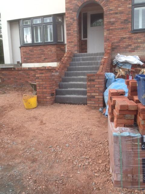 Image 20 - Large landscaping extension after internal build