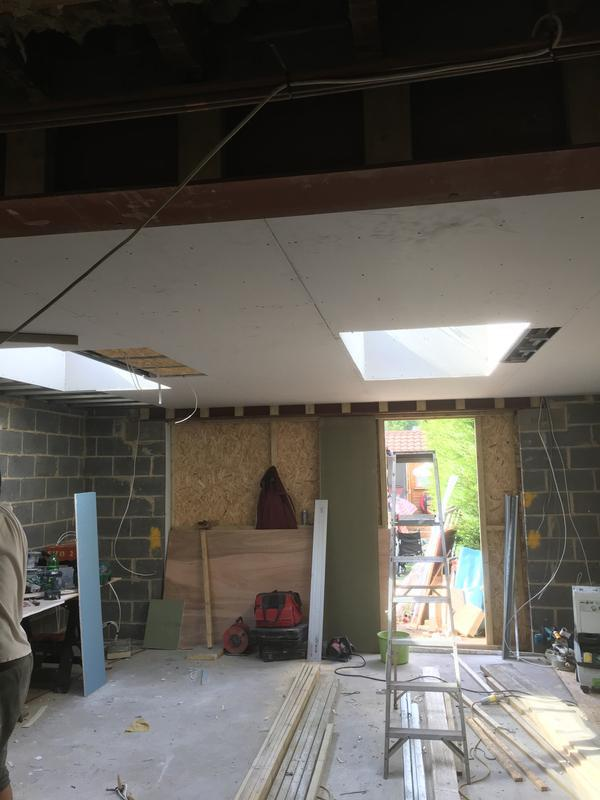 Image 35 - 6 metre extension with 2 skylights in Dagengham