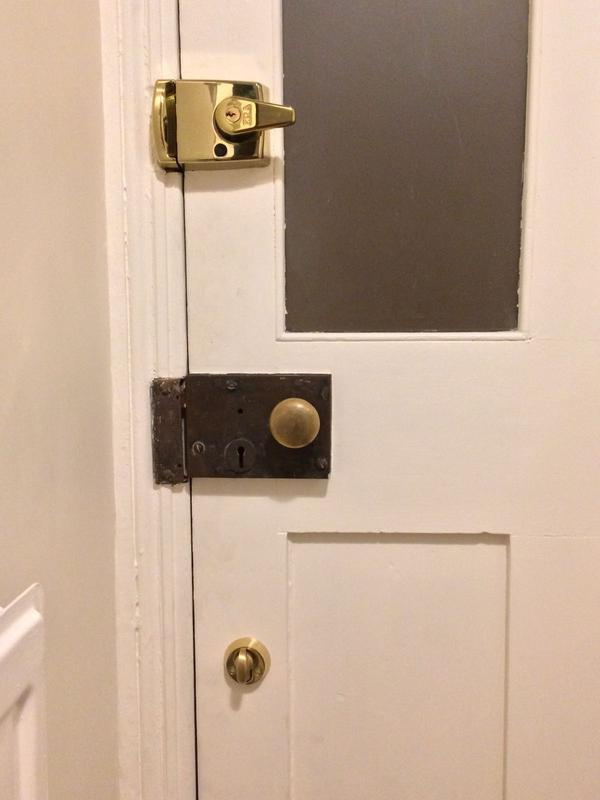 Image 15 - New locks installed