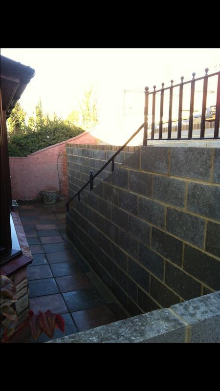 Image 37 - Steps, path and railings