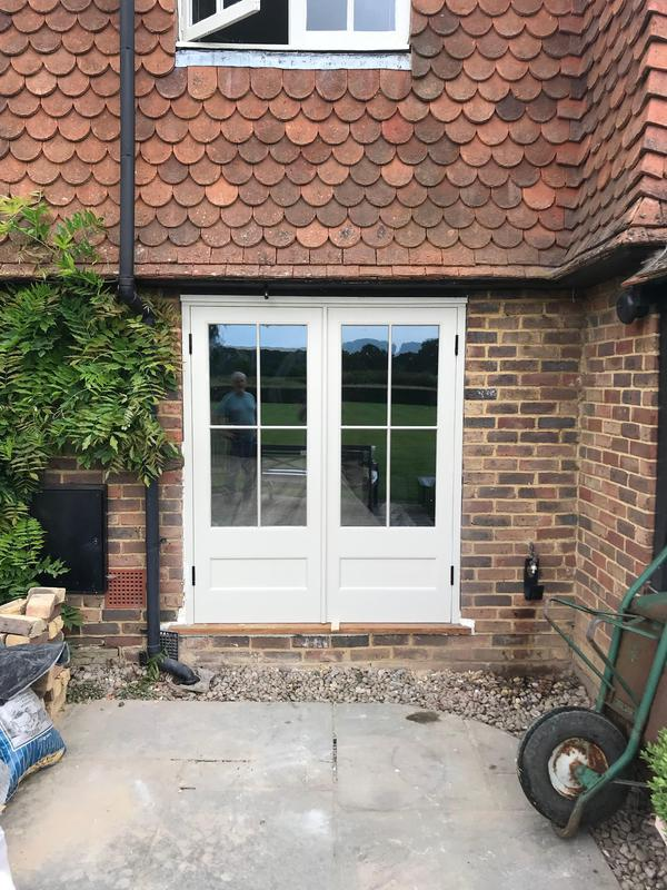 Image 12 - French doors made and fitted for listed property in West Sussex