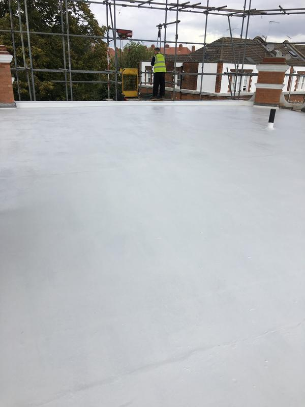Image 1 - Asphalt roof with solar protective paint