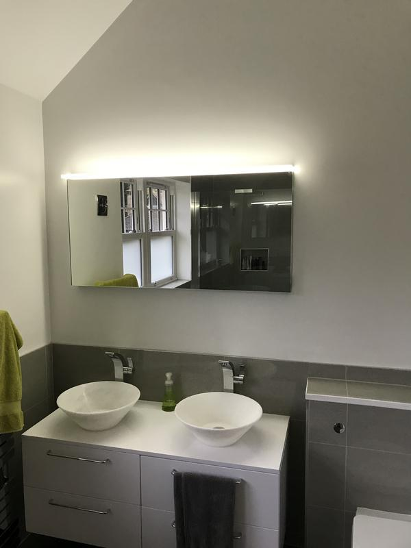 Image 62 - Bathroom Mirror fitted