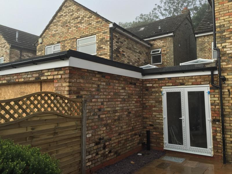Image 57 - single storey extensions with reclaimed burwell white bricks to match including 3 roof lights