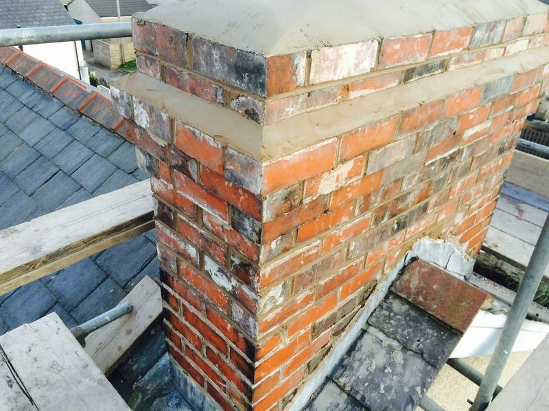 Image 16 - Chimney Re-build clitheroe