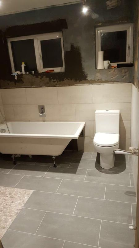 Image 16 - Bathroom second fix install in Raynes Park.