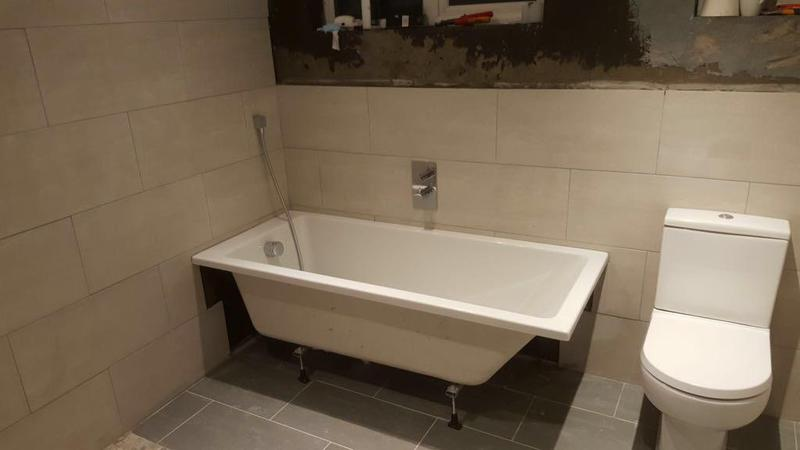 Image 17 - Bathroom second fix install in Raynes Park.