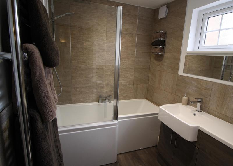 Image 6 - Finished work of the The Stevenage bathroom.