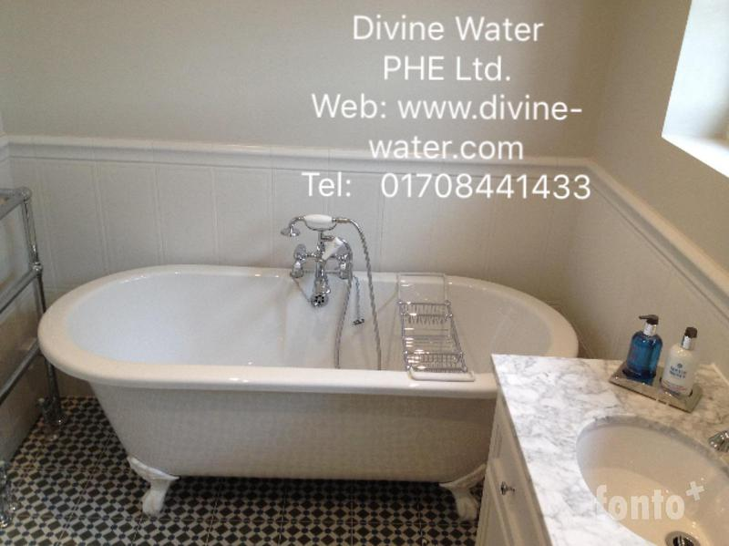 Image 106 - Free standing bath installation in Upminster.