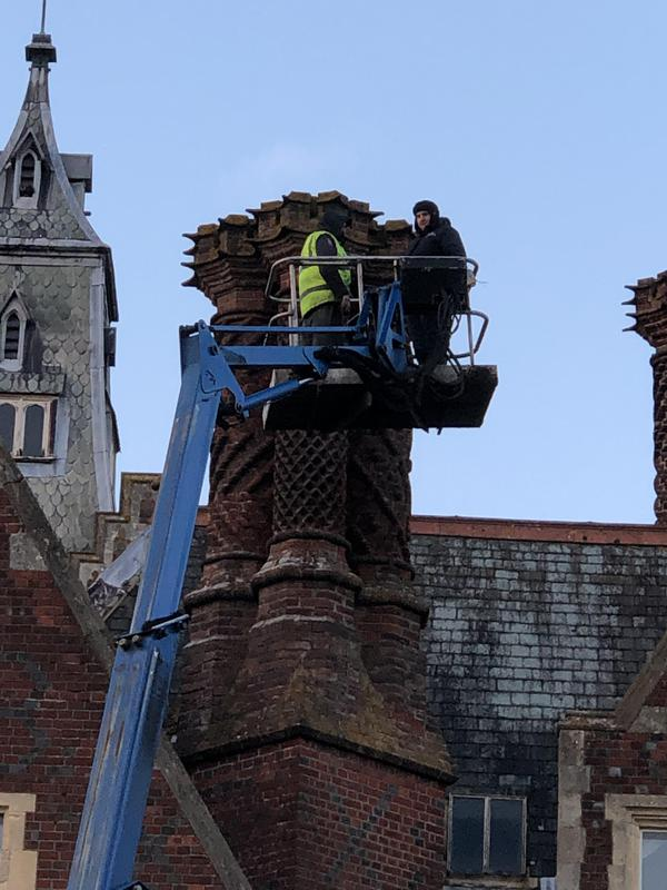 Image 2 - chimney repairs to a grade 1 listed building dating back to the 1800s