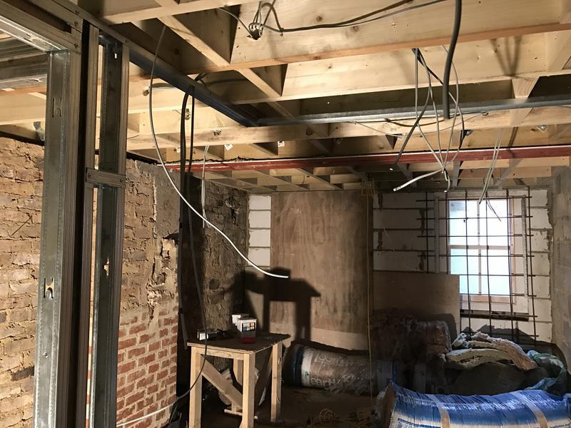 Image 23 - Basement 1st fix electrics