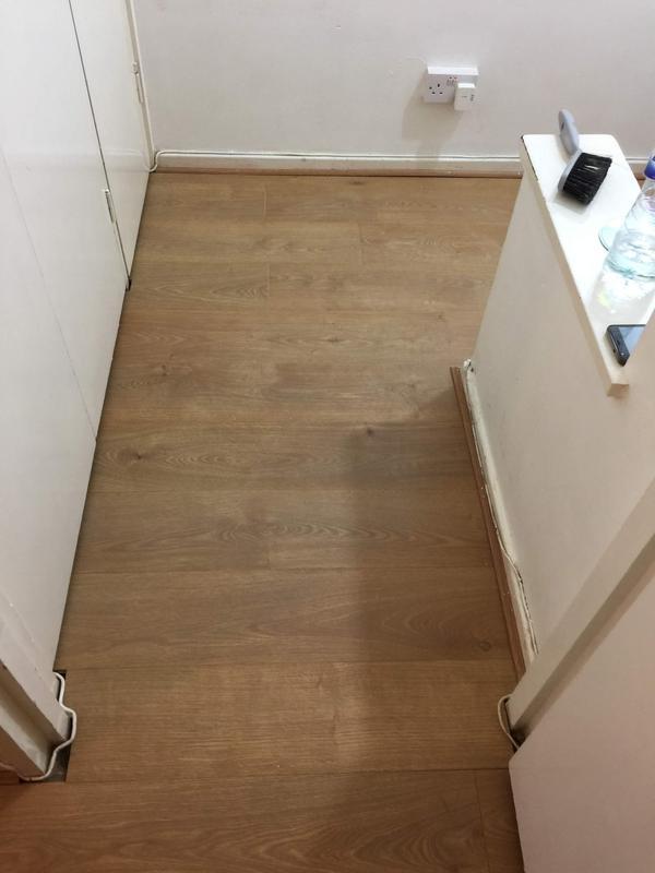 Image 25 - Laminating Hallway Complete
