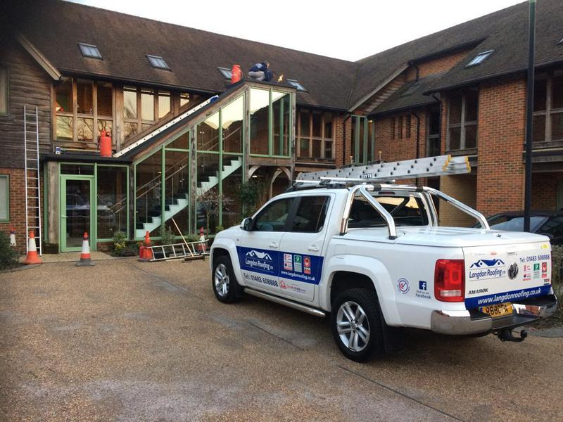 Image 34 - HIGH PERFORMANCE TORCH ON FELT ROOFING SYSTEMS IN MAYFORD AND SURREY