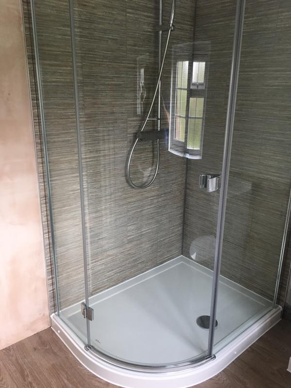 Image 6 - Creation of shower enclosure by reconfiguring other sanitary wear