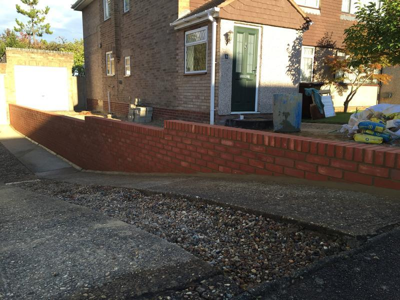 Image 30 - Front garden wall