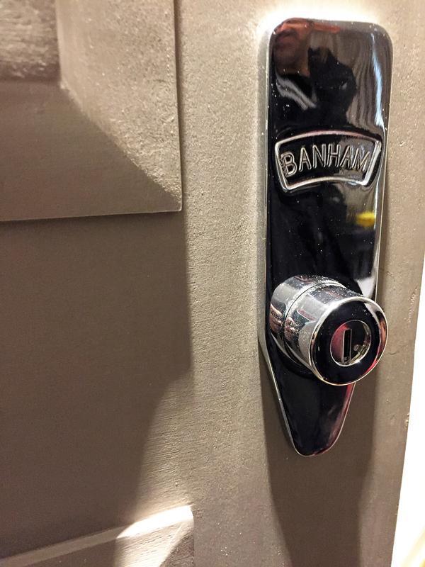 Image 40 - Banham lock installed