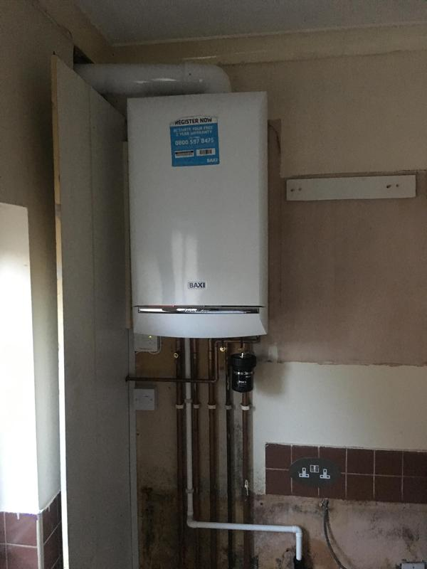 Image 2 - Baxi Duo-tec fitted in pace of old baxi combi. All installed as part of a house renovation
