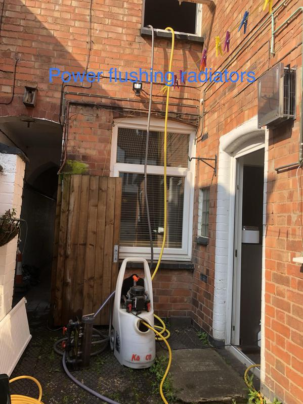 Image 40 - Power flushing. We are expert in power flushing. Combi or conventional system, We also install magnetic filter during flushing if you don't have one.