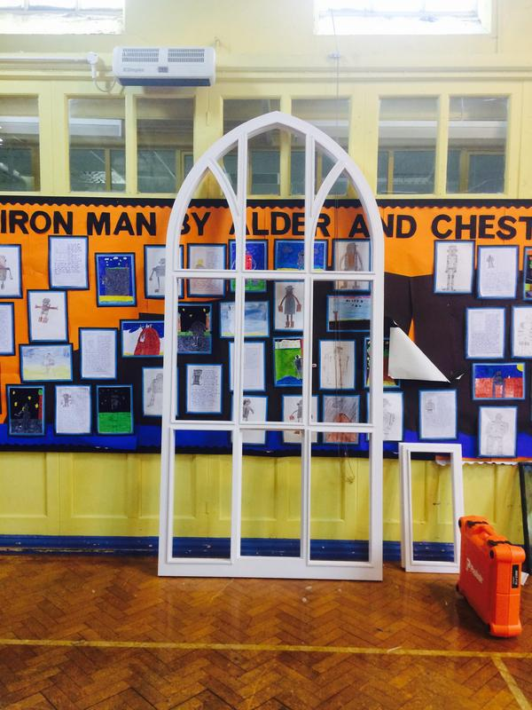 Image 18 - St James school windows Clitheroe
