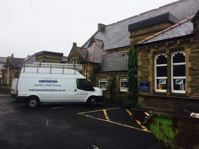 Image 19 - St James school windows Clitheroe
