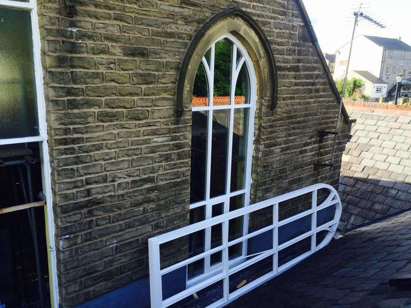 Image 20 - St James school windows Clitheroe