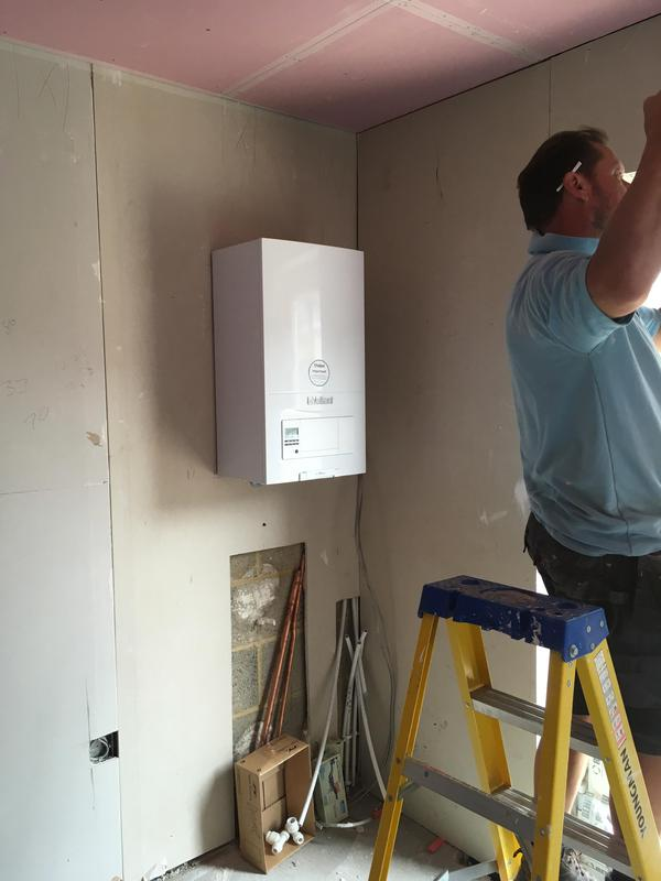 Image 24 - New Build central heating system fitted in Dagenham. Glow-worm.