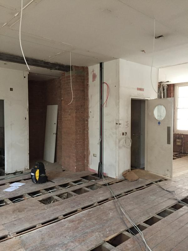 Image 72 - New wiring going in
