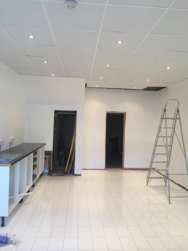 Image 78 - Shop interior repainted in Walthamstow
