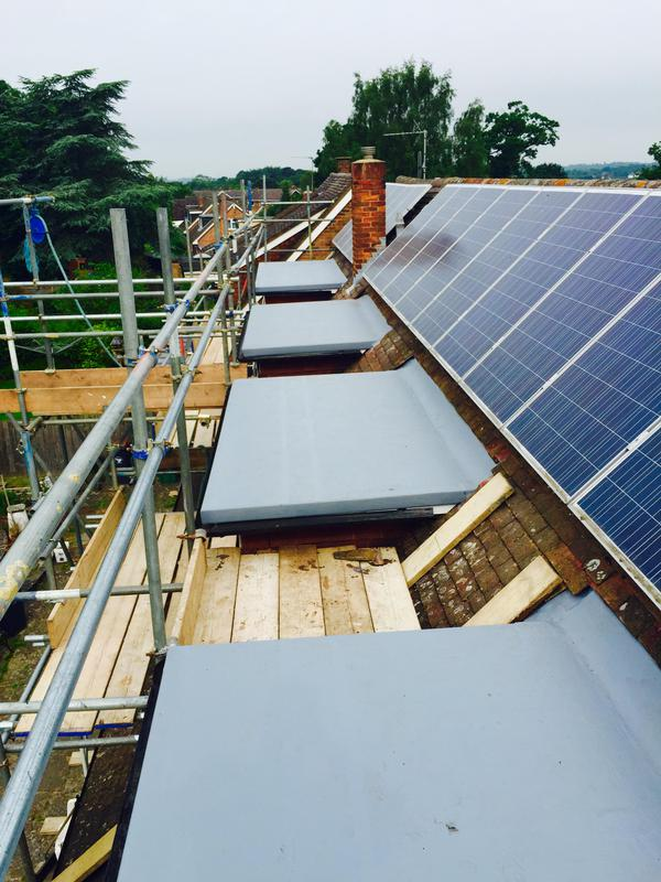 Image 1 - Glass fibre flat roof dormers