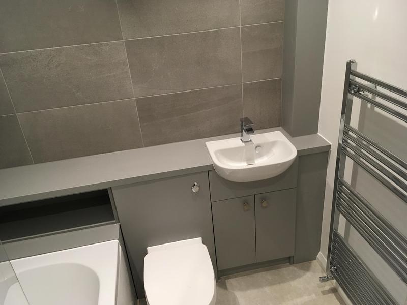 Image 116 - New build Bathroom installation in Dagenham. RM82JH