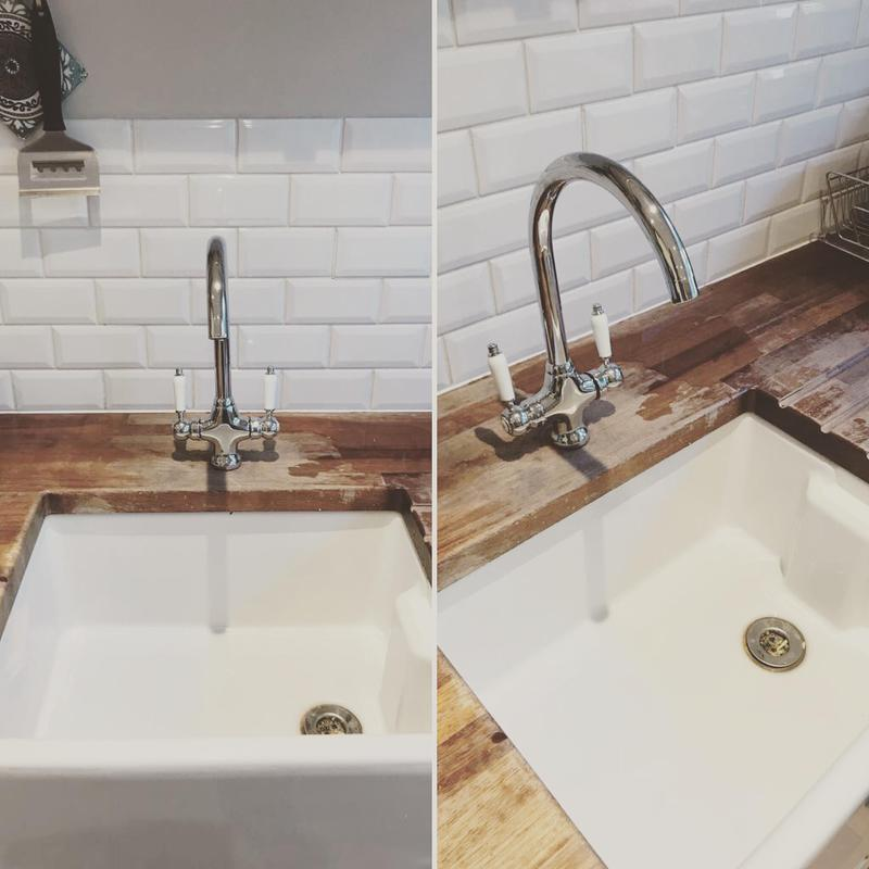 Image 3 - New kitchen sink and tap