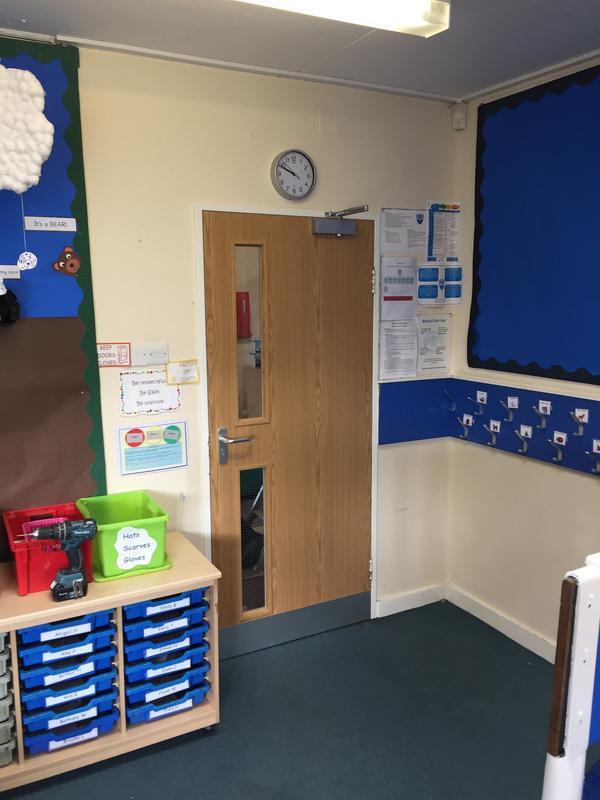 Image 19 - Replacement fire doors at Gt Baddow Junior school Chelmsford