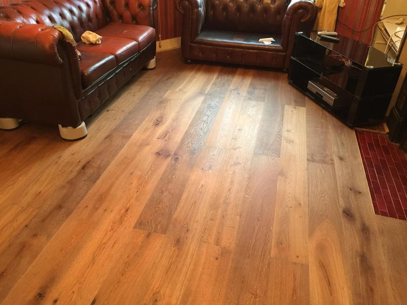 Image 19 - New Engineered wood installed